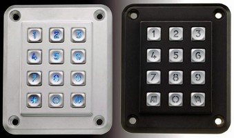 Fully Customizable Keypad withstands harsh environments.