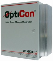 Solid-State Controllers promote magnet lifting capacity.