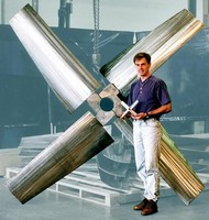 Hydrofoil Mixing Impeller optimizes fluid flow.