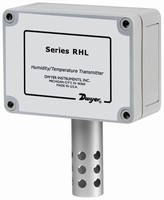 RH/Temp Transmitter suits commercial and HVAC applications.