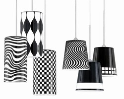 Black and White Pendants feature quick connect sockets.