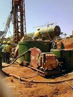 Peristaltic Pump targets concrete construction applications.