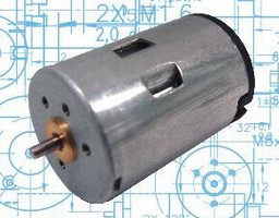 DC Micromotors include graphite commutation.