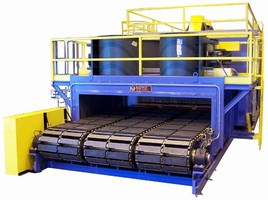 Conveyor Oven tempers transmission components at 300