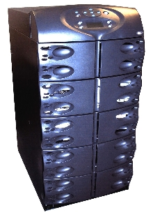 Uninterruptible Power System is scalable from 4 to 16 kVA.
