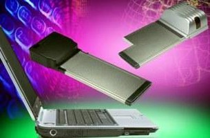 PCI ExpressCard Kits feature locking mechanism.
