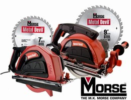 Metal Cutting Circular Saws feature dry cutting technology.