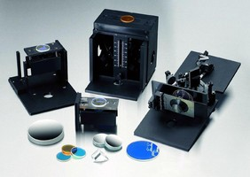Accessories complement UV-visible spectrophotometers.