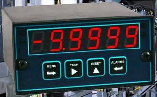 Strain Gauge Meter captures peaks at 60 readings/sec.