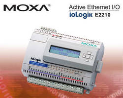 Moxa's ioLogik Active Ethernet I/O Receives Engineers' Choice Award from Control Engineering