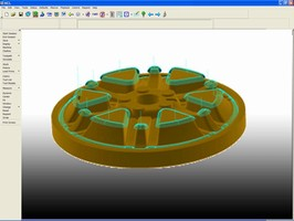 Machining Software delivers 5-axis functionality.