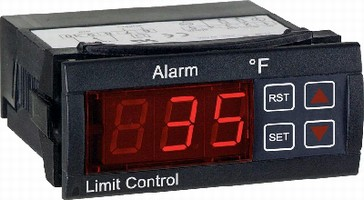 Thermocouple Limit Control provides audible alarm status.