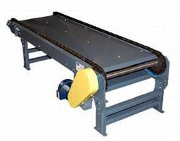 Titan 2-Strand Chain Conveyor Handles Products Not Conveyable on Standard Roller Conveyor