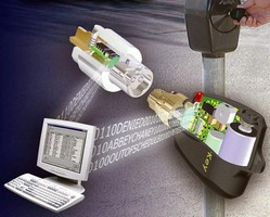 Electronic Lock provides audit trail for parking meters.