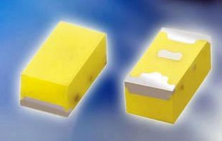 White SMD LEDs feature luminous intensity of 140-280 mcd.