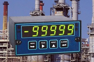 Linearizing Option offered for panel meters and counters.