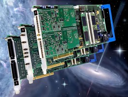 Hub enables synchronization of up to 270 PCI cards.