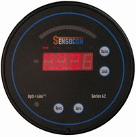 Digital Controller measures differential pressure and flow.