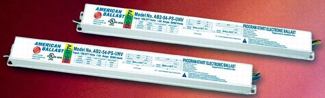 Electronic Fluorescent Ballasts do not require warm-up.