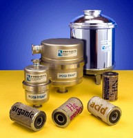 Filter Elements trap specific process contaminants.