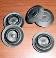 Button Plugs are made of flexible material.