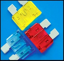 Fuses protect vital electrical components.