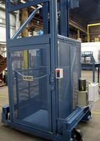 Vertical Lift has towable, portable design.