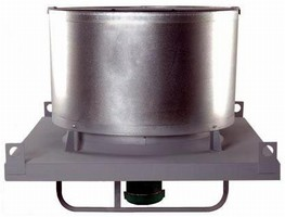 Roof Ventilator features low-silhouette design.