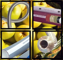 Food Handling Hoses suit high-temperature food processing.