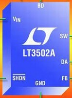 Step-Down DC/DC Converter delivers 500 mA max output.