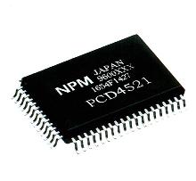 Motion Control Chip drives stepper motors.