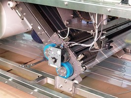 Wrappers and Tray/Shrink Systems have film feed module.