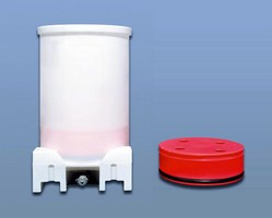 Material Bins handle viscious materials.
