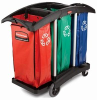 Recycling Carts support green facility maintenance.
