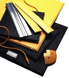 Safety Mats are suitable for safeguarding perimeters.