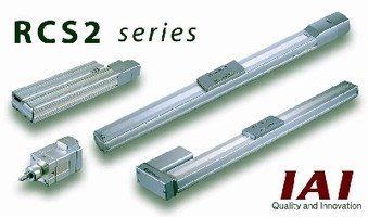 Linear Actuators facilitate conversion from air cylinders.