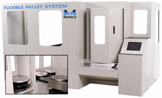 Modular Pallet System can retrofit to any machining center.