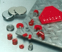 Magnets are suited to heavy-duty shop floors.