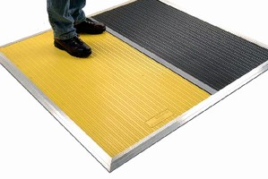 Safety Mats protect workers and vehicles.