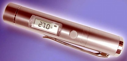 Digital IR Thermometer suits range of applications.