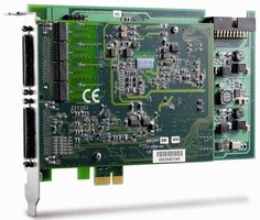 PCI Express DAQ Cards offer data transfers up to 250 MBps.