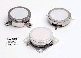 Surface-Mount Circulators target WiMAX applications.