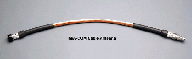 Radiating Cable Antennas operate over 400-6,000 MHz range.