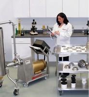 Homogenization Laboratory performs material analysis.