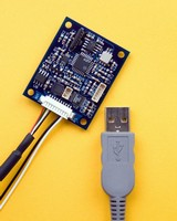 Digital Compass features RS232 and USB connectivity.