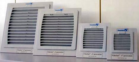 Fan Filters have service-friendly design.