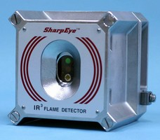 Flame Detector features sealed electronic and sensor section.