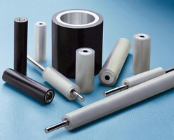 Very Small to Very Long and Large Diameter Cleaning Rollers (Sticky/Tacky) Now Manufactured in Hiawatha Rubber's New Clean Room