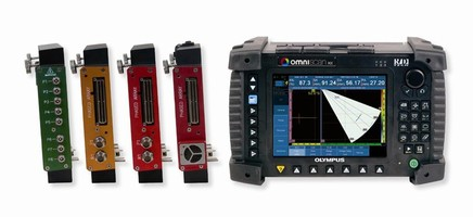 Olympus NDT Adds to the OmniScan MX Product Line-Two New Entry-Level, Low-Cost Modules-for Manual Phased Array Inspection