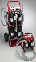Oil Filtration System works with high-viscosity fluids.